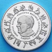 Сейшельские острова 5 рупий 2013 год. Папа Франциск.