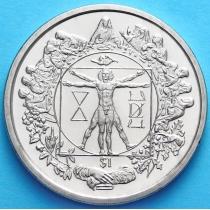 Сьерра-Леоне 1 доллар 2006 г. Витрувианский человек