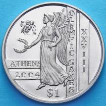 Сьерра-Леоне 1 доллар 2003 год. Олимпиада в Афинах