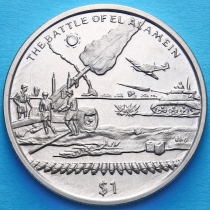 Сьерра-Леоне 1 доллар 2005 год. Битва за Эль-Аламейн.