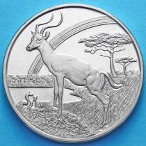 Сьерра-Леоне 1 доллар 2006 год. Антилопа
