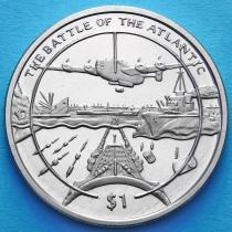 Сьерра-Леоне 1 доллар 2005 год. Битва за Атлантику.