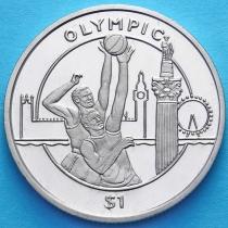 Сьерра-Леоне 1 доллар 2012 год, Олимпиада, баскетбол