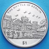 Сьерра-Леоне 1 доллар 2005 год. Битва за Берлин.