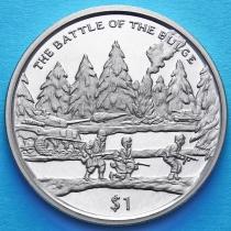 Сьерра-Леоне 1 доллар 2005 год. Битва в Арденнах.