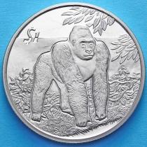 Сьерра-Леоне 1 доллар 2005 год. Горилла