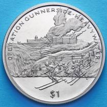 Сьерра-Леоне 1 доллар 2005 год. Операция Ганнерсайд.