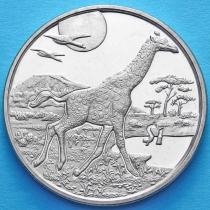 Сьерра-Леоне 1 доллар 2005 год. Жираф