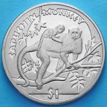 Сьерра-Леоне 1 доллар 2009 год. Капуцин