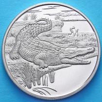 Сьерра-Леоне 1 доллар 2005 год. Крокодил