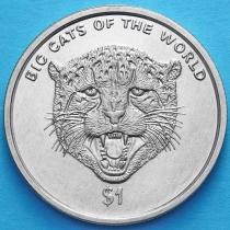 Сьерра-Леоне 1 доллар 2001 год. Леопард