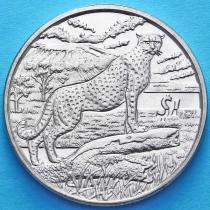 Сьерра-Леоне 1 доллар 2007 год. Гепард