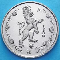 Сьерра Леоне 1 доллар 1997 год. Лев