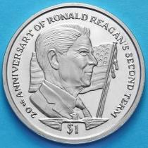 Сьерра-Леоне 1 доллар 2004 год.Рональд Рейган.