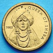 Сомали 100 шиллингов 2002 год. Царица Савская.