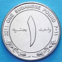 Судан 1 фунт 2011 год. Центральный Банк