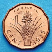 Свазиленд 1 цент 1975 год. ФАО