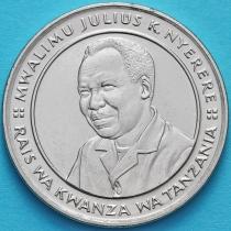 Танзания 10 шиллингов 1993 год. Джулиус Ньерере.