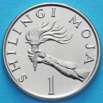 Танзания 1 шиллинг 1992 год.