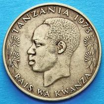 Танзания 20 сенти 1966-1973 год. Страус.