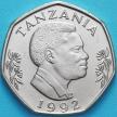 Монета Танзания 20 шиллингов 1992 год. Слоны.