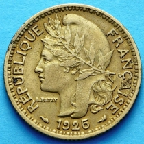 Французское Того 1 франк 1925 г. №1