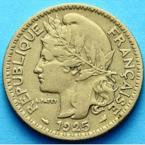 Того Французское 2 франка 1925 год. №2
