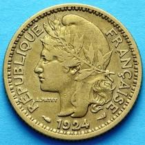 Французское Того 1 франк 1924 г. №3