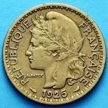 Французское Того 1 франк 1925 год. №3