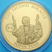 Тристан Да Кунья 1 крона 2014 год. Второе чудо