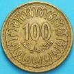 Монета Тунис 100 миллимов 2005 год.