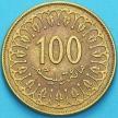 Монета Тунис 100 миллимов 2011 год.