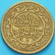 Монета Тунис 100 миллимов 1993 год.