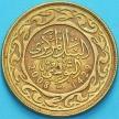 Монета Тунис 100 миллимов 2008 год.