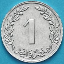 Тунис 1 миллим 1960 год.