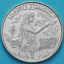 Тунис 1 динар 1976 год.