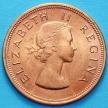 Монета ЮАР 1 пенни 1960 год.