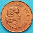 Монета ЮАР 1 цент 1967 год. KM# 65.1