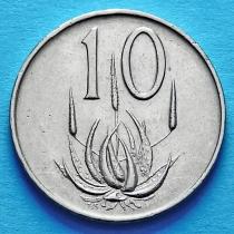 ЮАР 10 центов 1965 год. KM# 68.2