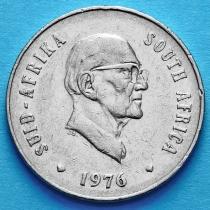 ЮАР 20 центов 1976 год. Якобус Йоханнес Фуше.
