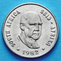 ЮАР 10 центов 1982 год. Бальтазар Йоханнес Форстер.