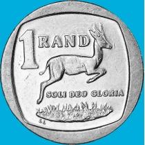 ЮАР 1 ранд 2009 год. Dzonga