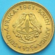 ЮАР 1/2 цента 1961 год.