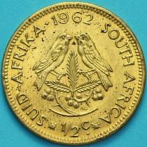 ЮАР 1/2 цента 1962 год.