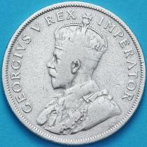 ЮАР 2 шиллинга 1933 год. Серебро.