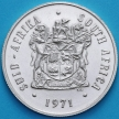 Монета ЮАР 20 центов 1971 год. UNC