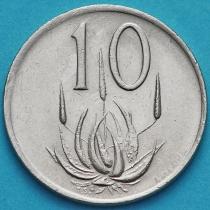 ЮАР 10 центов 1979 год. Николаас Дидерихс.