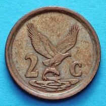 ЮАР 2 цента 1992 год.