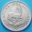Монета Южной Африки 50 центов 1964 год. Серебро.