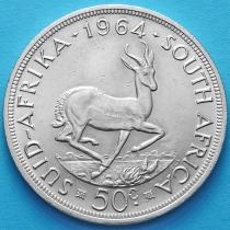 Южная Африка 50 центов 1964 год. Серебро.